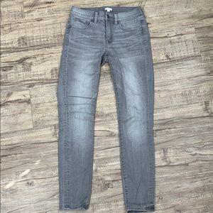 J. Crew Stretch Gray Wash Jeans